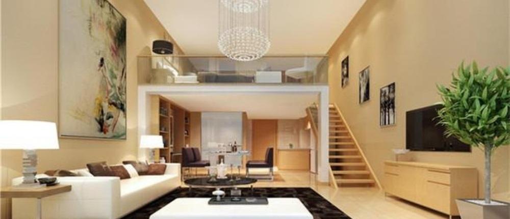 水晶欧式吊灯;卧室地面:圣象8000转木地板