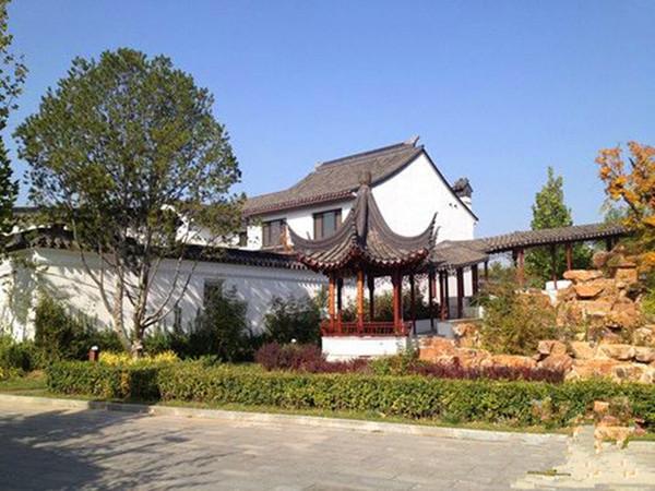 龙山新新小镇苏园中式别墅 北京稀缺 怀柔别墅中的高大上