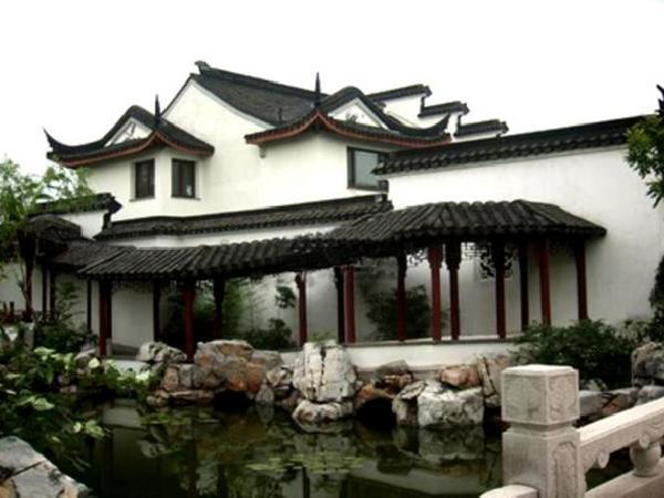 苏州园林式别墅_苏州园林别墅平面图图片