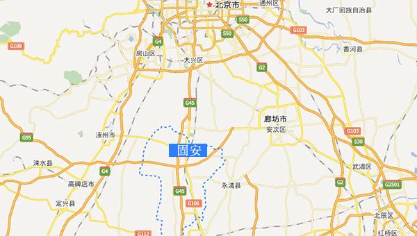 廊坊市霸州市地图