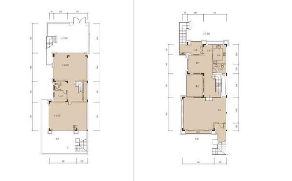 平层: 44-47 的单身公寓