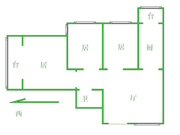 龙都花园-户型图7