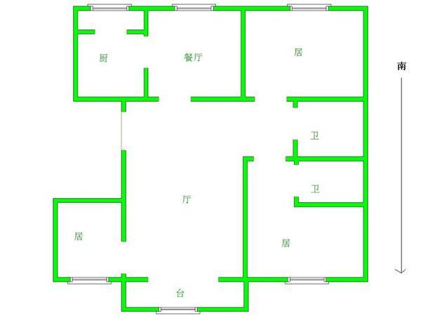 泰丰家园-户型图4