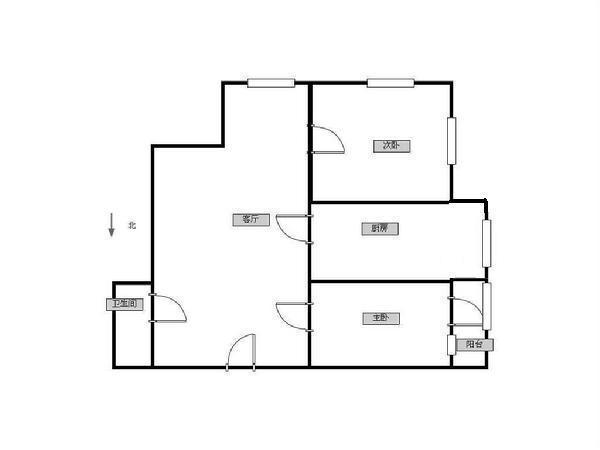 森淼清华园-户型图2