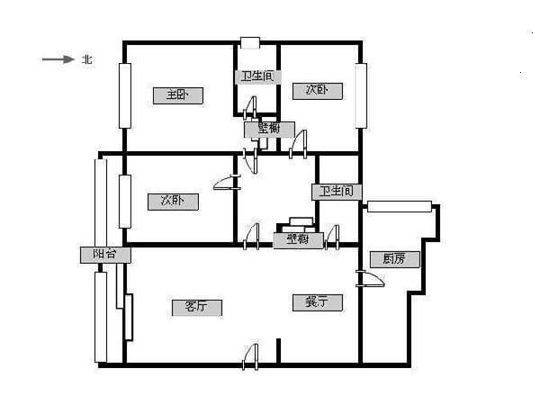 新城市花园-户型图8