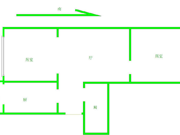 玉峰花园-户型图8