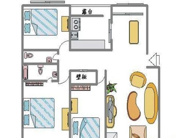 紫薇田园都市商业街-户型图4