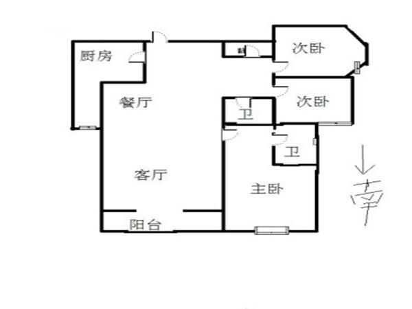 紫薇田园都市商业街-户型图5