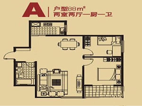 长丰园-户型图3