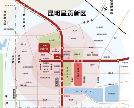 呈贡地段 昆明市政府春融街地铁口购物广场商铺现售-室外图-363114980