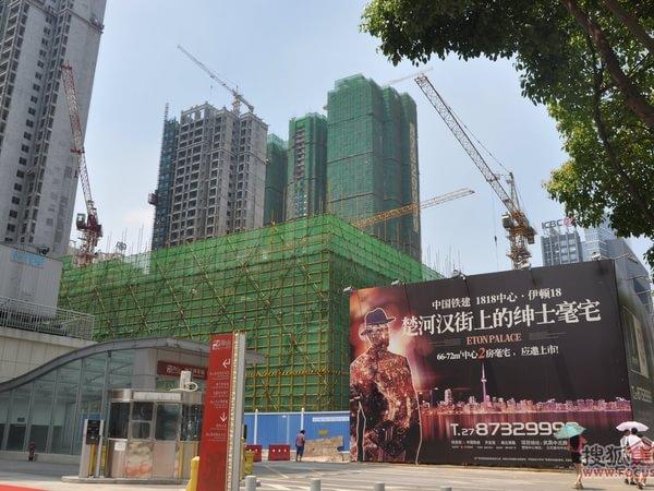 武汉1818中心-外观图1