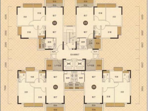 东海国际公寓 亚洲豪宅 无敌海景 不限购贷 一手免佣