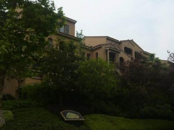 庆隆高尔夫别墅森林让你看了就不想走的天然1204v别墅图纸别墅房图片