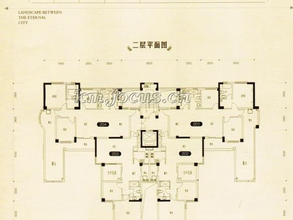 万辉星城别墅-户型图5