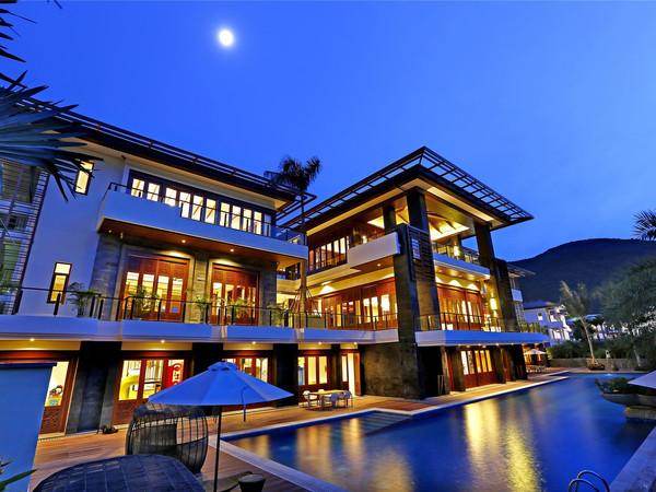 亚龙湾 唯一 纯半山 现房精工墅 独栋带泳池花园-室外图-334346373