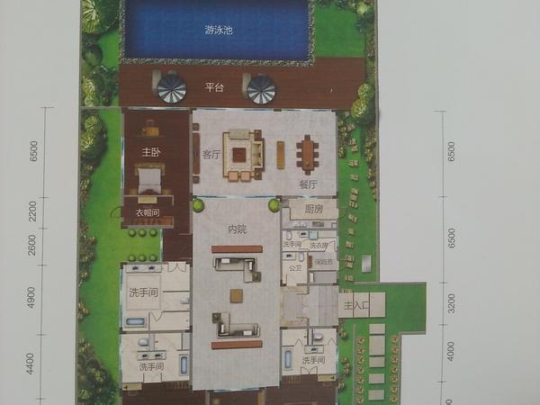 合景汀澜海岸别墅-户型图8