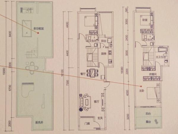 万辉星城别墅-户型图6