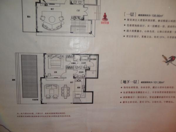 中信香水湾-户型图2