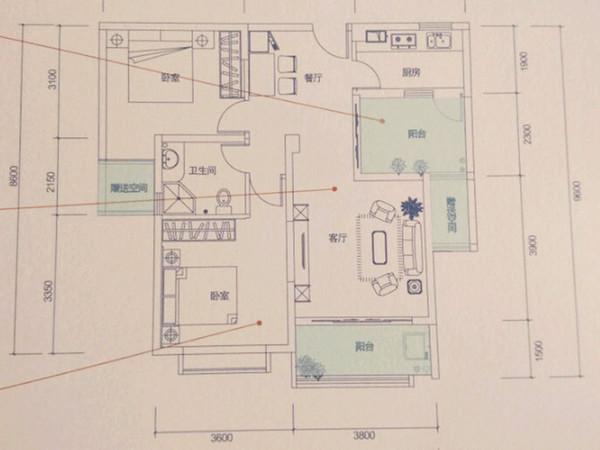万辉星城别墅-户型图4