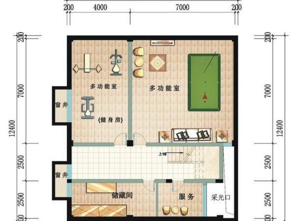 鲁能三亚湾-户型图5