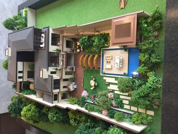 新中式府院别墅,让您回忆起四合院的精致生活-室内图