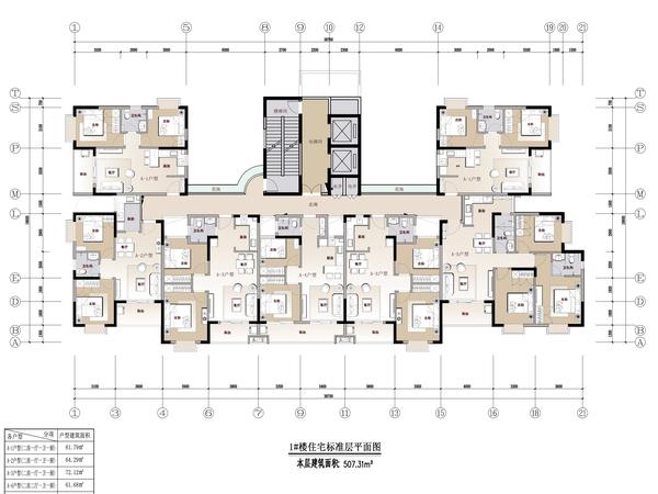 海南东方汇园-户型图2