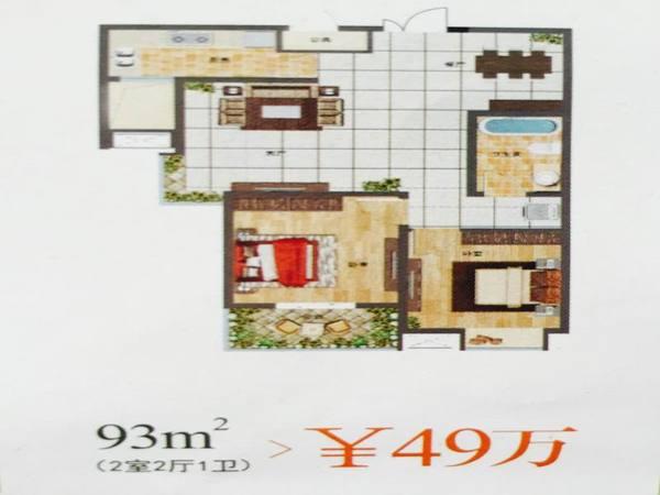广厦水岸东方-户型图4