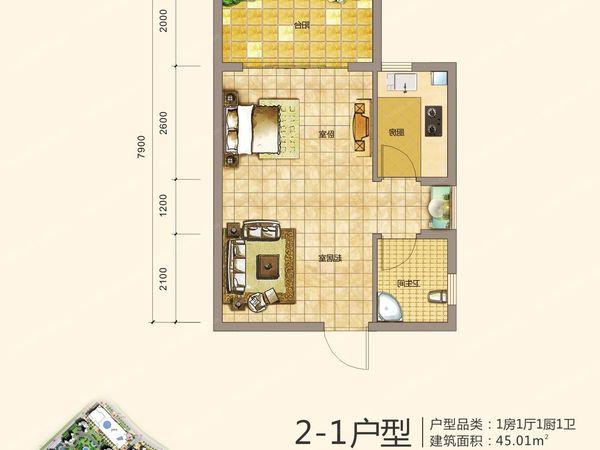 海韵·陵河假日-户型图4