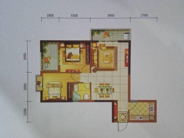 西城时代现铺带返租 有产权 8年回本 能做餐饮-室内图-7