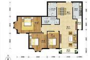 房通网 黄金地段热卖大三居  户型正气 学区房风水绝佳