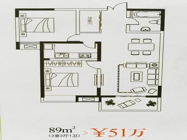 广厦水岸东方-户型图8
