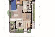 亚龙湾 西山渡 明星相伴下沉式庭院 空中泳池 独栋带车位-室内图-6