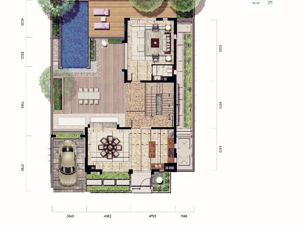 亚龙湾 唯一 纯半山 现房精工墅 独栋带泳池花园-室内图-6