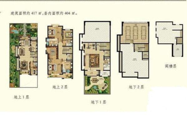别墅庄园设计平面图