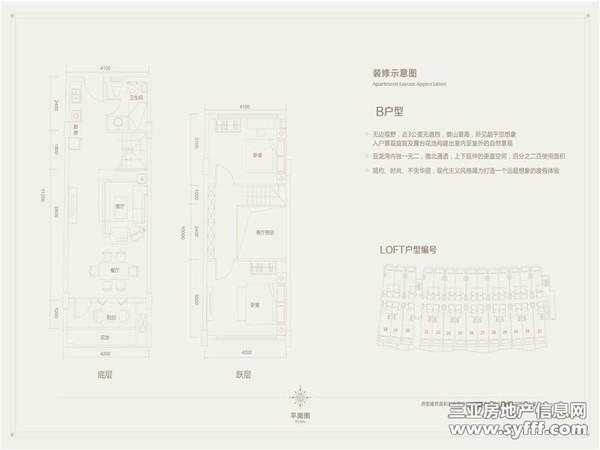 申亚·亚龙湾壹号-户型图3