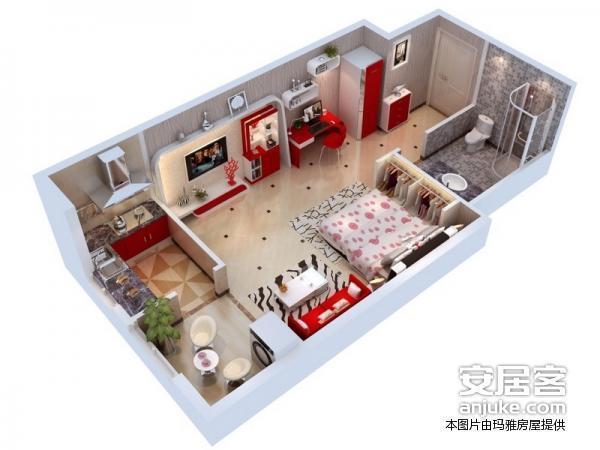 龙湖香醍国际社区-户型图3