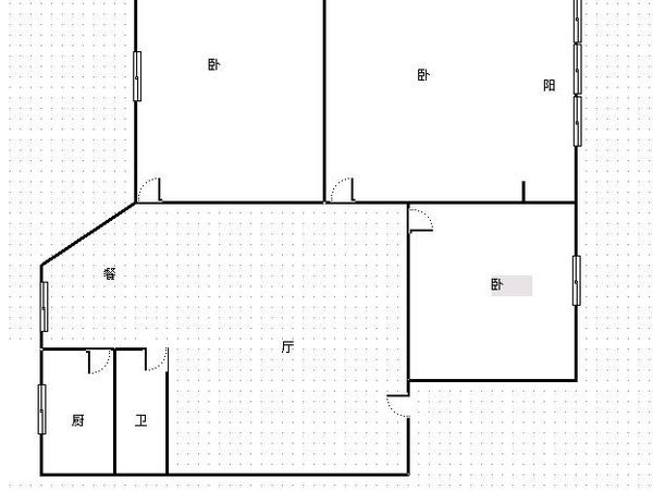 白马小区-户型图6
