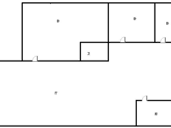 白马小区-户型图7