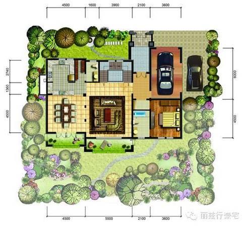四层临街房设计图