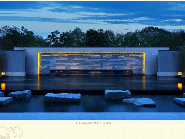 新中式別墅 游泳池
