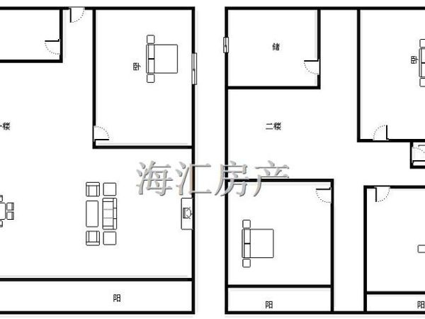 裕昌太阳城-户型图6