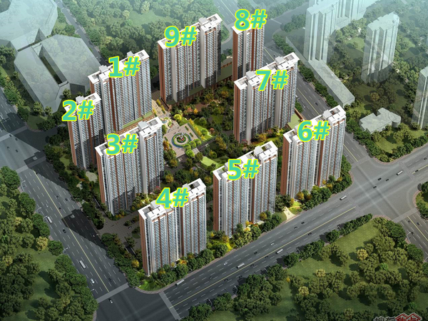 清能清江锦城-外观图1