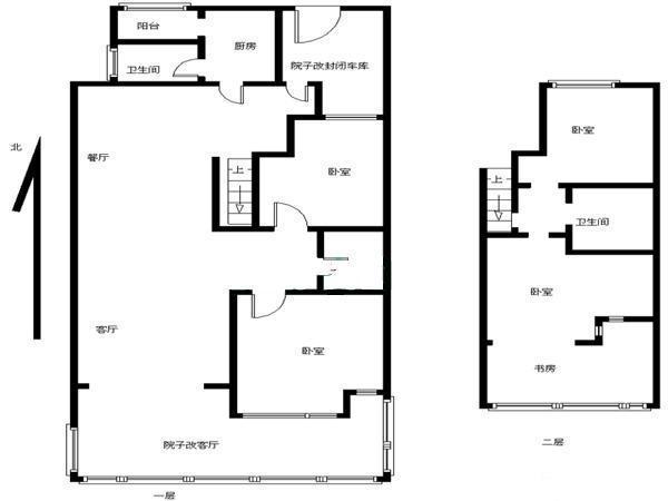 西红门月桂庄园 一层豪装别墅 满五唯一 自建120米