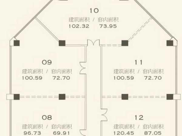 朝阳区 三元桥 琨莎中心写字楼小区 1200.00平米 2室1厅1卫