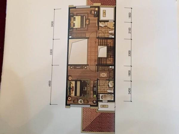 八达岭孔雀城5期联排别墅 北入户带地下室花园露台 稀缺房源