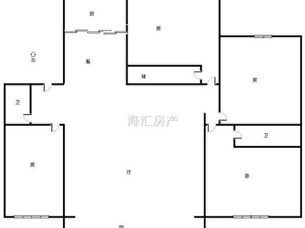 中天国际公寓-户型图5