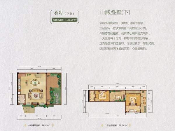 龙湾·雨林谷-户型图5