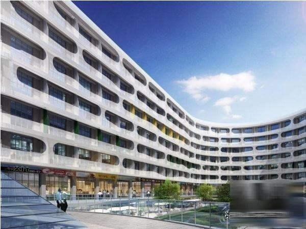 loft公寓建筑效果图