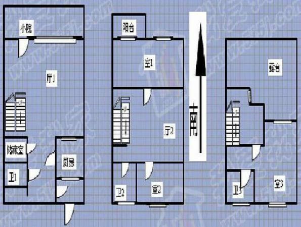 半岛蓝湾别墅 金角带150平米院 两层半开间大 包税费急售
