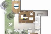亚龙湾 西山渡 明星相伴下沉式庭院 空中泳池 独栋带车位-室内图-7
